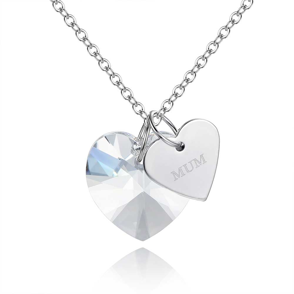 b4b2a029403a Large Heart Crystal Pendant 15mm made with Crystals from Swarovski®