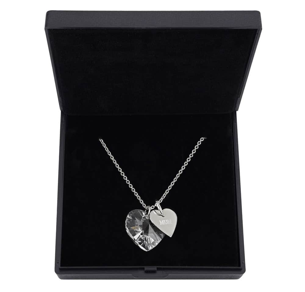 Large heart crystal pendant 15mm made with swarovski elements large heart crystal pendant 15mm made with crystals from swarovski especially for mum aloadofball Gallery